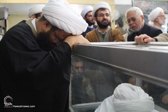 تصاویر/ وداع با پیکر مرحوم آیت الله حائری شیرازی