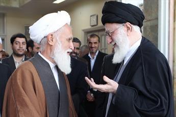 پیام تسلیت رهبر معظم انقلاب در پی درگذشت آیت الله حائری شیرازی