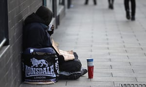 جامعه اسلامی ساکرامنتو آمریکا هزار بیخانمان را غذا داد