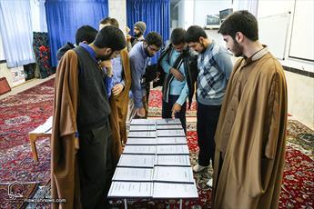 تصاویر/ تجلیل از پژوهشگران برتر مدرسه علمیه حقانی