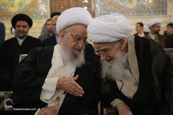 تصاویر/ جشن میلاد امام حسن عسکری(ع) با حضور مراجع و علما