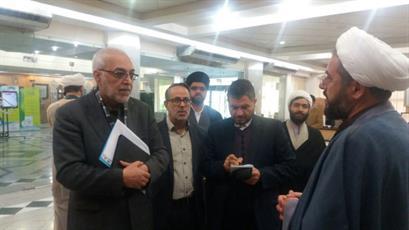 بازدید رئیس مرکز برنامه ریزی منابع انسانی وزارت آموزش و پرورش از مراکز حوزوی