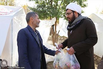 امدادرسانی بیش از ۳ هزار خادم امام رضایی در مناطق زلزلهزده/ روحانیت پیشتاز  کمک رسانی