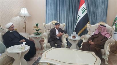 دیدار معاون بینالملل سازمان فرهنگ با شخصيتهاي فرهنگي و علمي عراق
