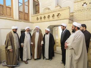 تصاویر/ سفر معاون تبلیغ و امور فرهنگی حوزههای علمیه به استان سمنان-۲