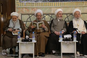 تصاویر/ مراسم هفتمین شب درگذشت مرحوم آیت الله حائری شیرازی(ره)