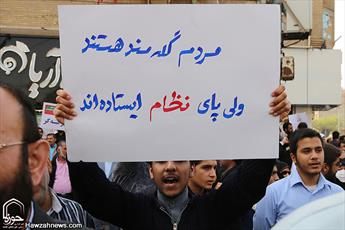 قیام مردم اهواز علیه آشوب گران خیابانی