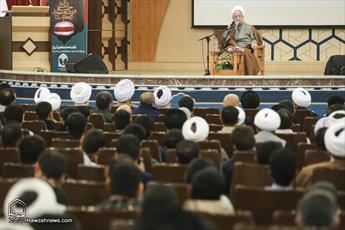 تصاویر/ محفل انس با قرآن به مناسبت کنگره شهدای روحانی استان قم
