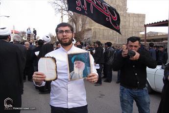 تجمع مردم    تاکستان علیه اقدام  آشوبگران در آتش زدن قرآن+ عکس