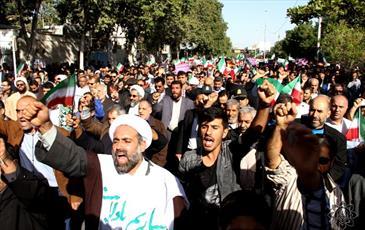 تجدید میثاق مردم بوشهر با ولایت+ عکس