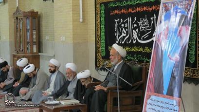تصاویر/ مراسم گرامیداشت مرحوم آیت الله حائری شیرازی در کرمان