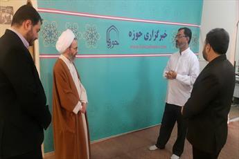 حجت الاسلام والمسلمین رجبی از خبرگزاری حوزه بازدید کرد