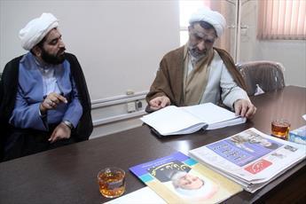 بازدید حجت الاسلام والمسلمین خسروپناه از رسانه رسمی حوزه