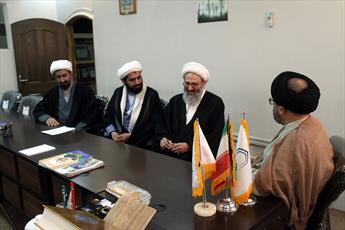 عضو جامعه مدرسین از خبرگزاری حوزه بازدید کرد