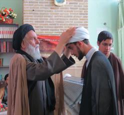 طلاب مدرسه محمودیه کرمان معمم شدند