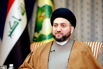 عمار حکیم درگذشت امام جماعت مسجد سهله را تسلیت گفت