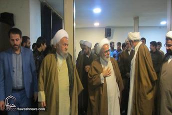 تصاویر/ حضور قائم مقام مدیر حوزه های علمیه کشور   در حوزه علمیه  تاکستان