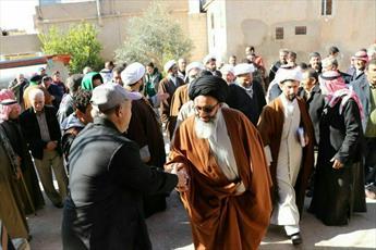 نماینده مقام معظم رهبری در سوریه از استان حمص بازدید کرد