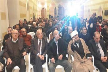 نشست همبستگی با قدس در لبنان برگزار شد