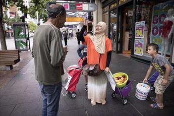 مسلمانان نیوزلند «پناهگاه امن» برای بی خانمان ها بنا میکنند