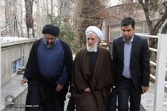 تصاویر/ عیادت امام جمعه موقت تهران از جانبازان قطع نخاعی