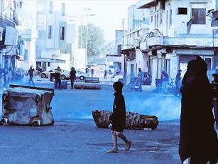 تظاهرات در منطقه الدراز محل سکونت آیتالله عیسی قاسم سرکوب شد
