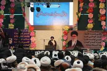تصاویر/ همایش روحانیت  و حوزه انقلابی در اصفهان