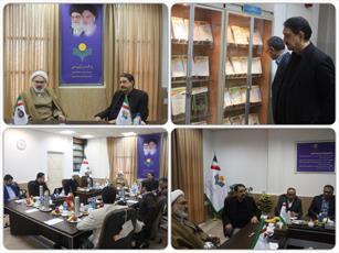 بازدید رئیس دانشگاه علامه طباطبائی از پژوهشگاه علوم و فرهنگ اسلامی