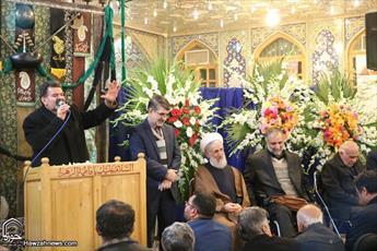تصاویر/ مراسم جشن میلاد حضرت زینب(س) و بزرگداشت مرحوم حجت الاسلام والمسلمین مظاهری
