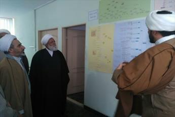 معاون آموزش حوزه های علمیه از حوزه  امام رضا(ع) تهران بازدید کرد+ تصاویر
