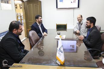 بازدید سیف البطبوطی از رسانه رسمی حوزه های علمیه