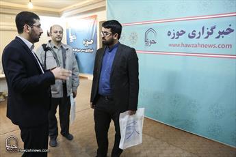 تصاویر/ بازدید مدیر مرکز رسانهای الرسالی عراق از رسانه رسمی حوزه