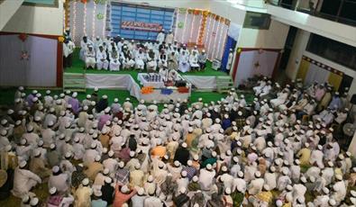 ششمین دوره مسابقات قرآنی طلاب علوم دینی در هند برگزار شد