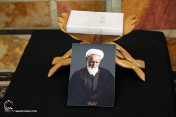 تصاویر/ مراسم بزرگداشت چهلمین روز ارتحال مرحوم آیت الله حائری شیرازی