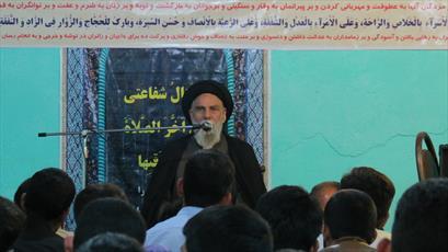 رئیس شورای حوزه  کرمان از مدارس علمیه جیرفت و عنبر آباد بازدید کرد+ عکس