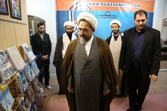بازدید آیت الله علیدوست عضو جامعه مدرسین از رسانه رسمی حوزه