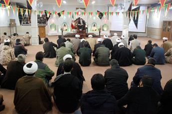 برگزاری مراسم سوگواری حضرت فاطمه زهرا (س)در تیپ  امام صادق(ع)