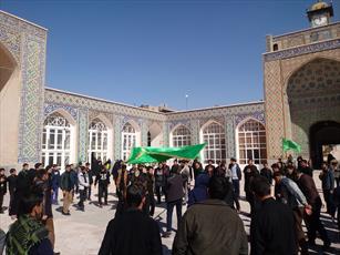 طلاب و روحانیون کرمان در عزای فاطمی سوگوار شدند