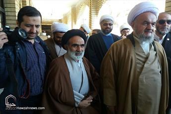 تصاویر/ بازدید رئیس مرکز خدمات حوزه های علمیه از حوزه تاکستان