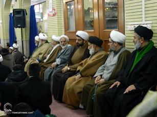 تصاویر/ مراسم گرامیداشت ۱۲ بهمن در حوزه همدان