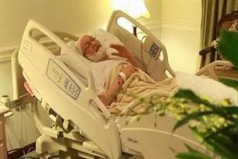 آیت الله قاسم بعد از انجام عمل جراحی وارد بخش مراقبت شد