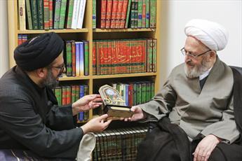 مدیرمسئول خبرگزاری حوزه با آیت الله العظمی سبحانی دیدار کرد
