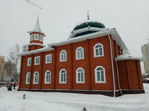 مسجد آرخانگلسک در شمال روسیه افتتاح شد