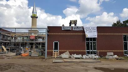 مسجدی در لاهه مورد حمله خرابکارانه قرار گرفت