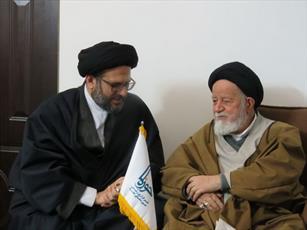 مدیرعامل خبرگزاری حوزه با نماینده ولیفقیه در سمنان دیدار کرد