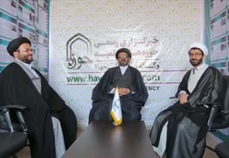 حجتالاسلاموالمسلمین حسینی کوهساری از دفتر خبرگزاری حوزه در سمنان بازدید کرد