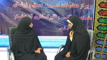 ارائه مشاوره  به بانوان در مدارس علمیه خواهران کرمان