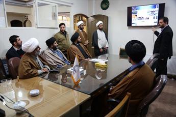 بازدید دبیرکل مجلس وحدت مسلمین پاکستان از  خبرگزاری حوزه علمیه