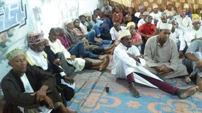 تصاویری از مجلس توسل به اهل بیت(ع) در جزیره کوچک آفریقایی