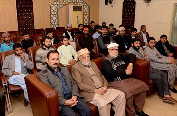 مراسم روز همبستگی کشمیر در دفتر مرکزی حزب عوامی پاکستان برگزار شد